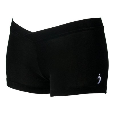 Miss Kya Shorts - Black Velvet
