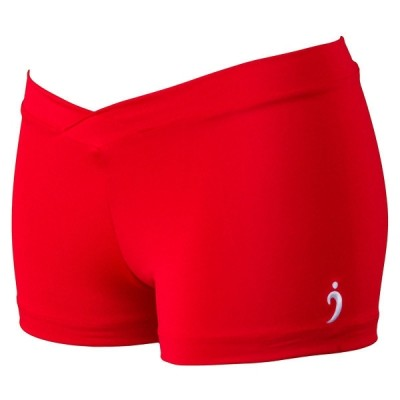 Miss Kya Shorts - Fire Engine Red (Girls)
