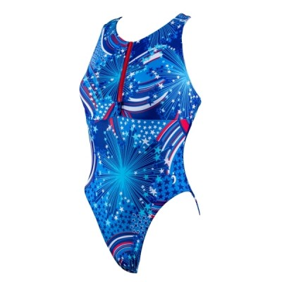 Maggie Water Polo Suit - Fireworks (Kids)