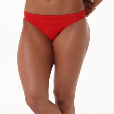 Natalie Workout Bottom - Fire Engine Red
