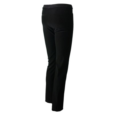 Brenda V-Down Pant - Black Velvet (Girls)