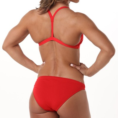 Heidi Hipster Bottom - Fire Engine Red
